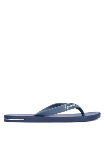 Ipanema blue Posto 10 Ad Flip Flops 1608BSH245C0FFGS_1