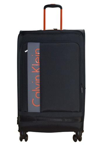 "Calvin Klein black Calvin Klein Amagansett 29"" 8 wheels Soft Case Luggage - Black 03EFEAC6337642GS_1"