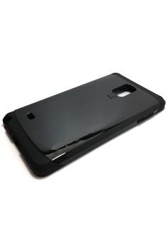 Sleek Shockproof Case for Samsung Note 4 (Black)