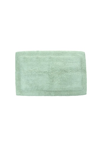 Charles Millen SET OF 2 CHARLES MILLEN OI-0121(S) Cara Tufted Mat with Anti Slip   ( 40 x 60 CM ) 408g. A8B42HLE46F32AGS_1