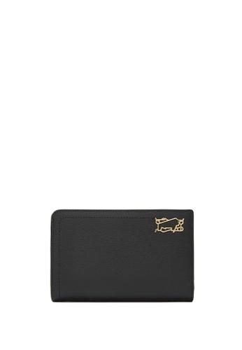 Braun Buffel black Thonet 2 Fold 3/4 Wallet with External Coin 0460AACAB2D42AGS_1