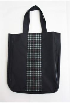 Plaid Shopping Bag