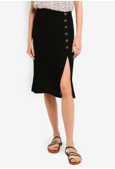 2a82cd71ab Brave Soul black Gretchen Midi Skirt 6FC36AAB454D32GS_1