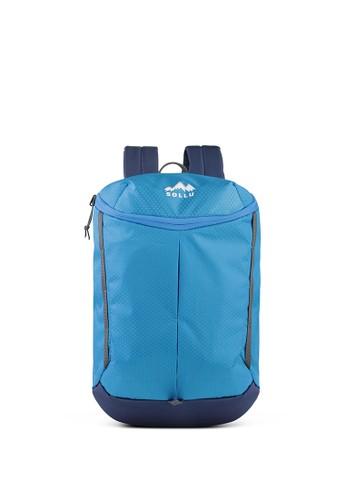 Sollu Bag's blue Daily Compact Backpack, Sollu Tracker Series Blue AA372ACD223FC9GS_1