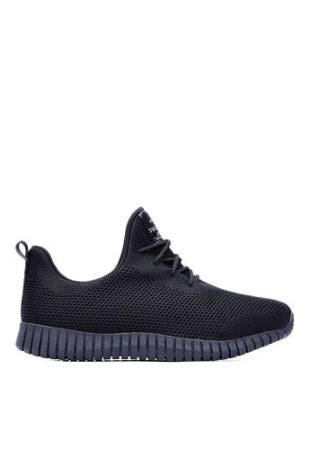Life8 black Sport Mixed Shose Sneakers-09653-Black LI286SH0RJXLMY_1