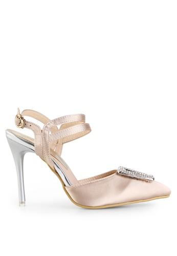 Mandy's beige Allegia Beige Heels MA947SH84LMPID_1