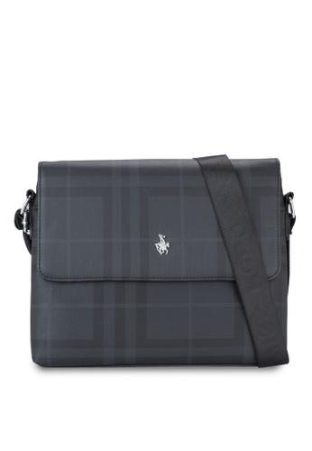 Swiss Polo black Swiss Polo Messenger Bag SW912AC24XFFMY_1