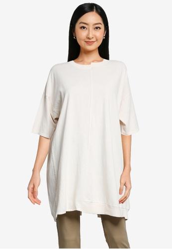 niko and ... white T-Shirt Tunic 8E4B6AAFDAB34BGS_1