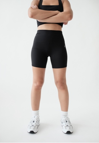 Liberty Active black Flex Crop Shorts 9EFBBAA22B15FBGS_1