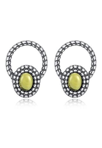 SUNRAIS silver High-end Silver S925 silver fashion earrings E3FDDAC01D807DGS_1