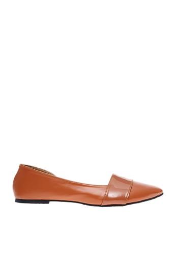 Cerelia brown Cerelia Lolyta Flatshoes 294FASH69C5228GS_1