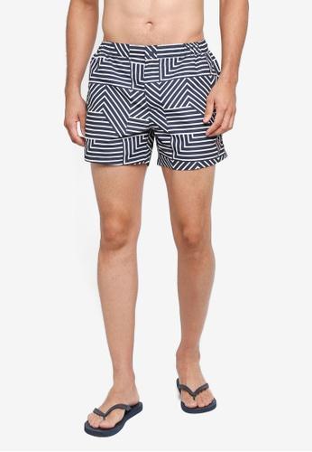 Jack Wills navy Wittering Tailored Swim Shorts 4DB56US1B3C88CGS_1