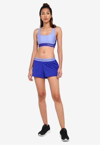 Armour Mid Crossback Sports Bra