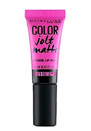 Maybelline pink Maybelline Lips Studio Color Jolt Matte 01 - Don't Pink With Me MA671BE0S2TUMY_1