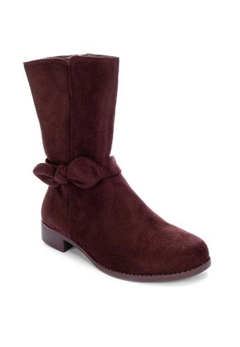 S&H brown Georgina Boots 09177KS50B901EGS_1