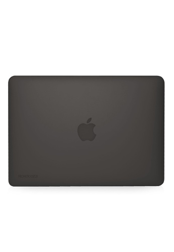 """Monocozzi LUCID Matt Translucent Hard Shell Case for 15"""" with Touch Bar and Touch ID - Black MO983AC79OOYHK_1"""