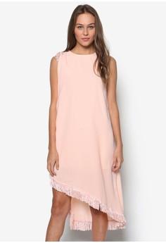 Sleeveless Tassels Dress