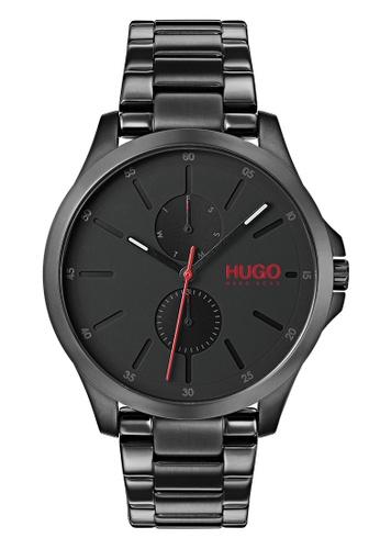 Hugo Boss black HUGO Jump Black Men's Watch (1530028) CB384AC539DA1EGS_1