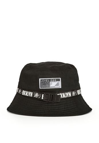 LC Waikiki black Strap Detail Bucket Hat B2E1EKC2E08D01GS_1