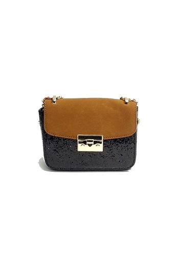 Lara black and multi Women Flap Sling Bag BE6CEAC62476FBGS_1