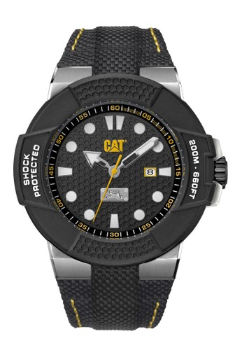 Caterpillar black Sporty Men's Watches Special Edition CAT SF.141.61.111 4D0A0AC3B37E69GS_1