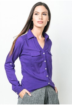 Amethyst Long Sleeves Top