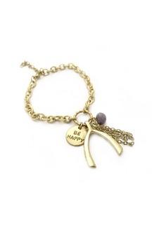 Wishbone and Be Happy Bracelet