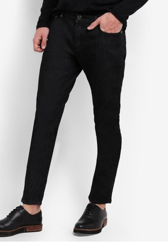 threads by the produce black Slim Fit Jeans TH122AA73JZYMY_1
