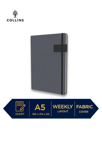Collins black Collins GAIA ─ 2021 Calendar Year Diary ─ Black ─ A5 Week to View DFAE5HLBF5D54AGS_1