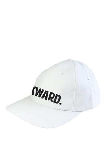 HYPE MNL white Awkward Baseball Cap A0649ACED81EE4GS_1