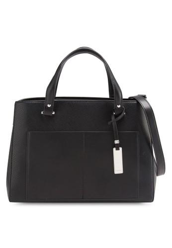 牌飾暗紋女性托特包、 包、 包ESPRIT牌飾暗紋女性托特包最新折價