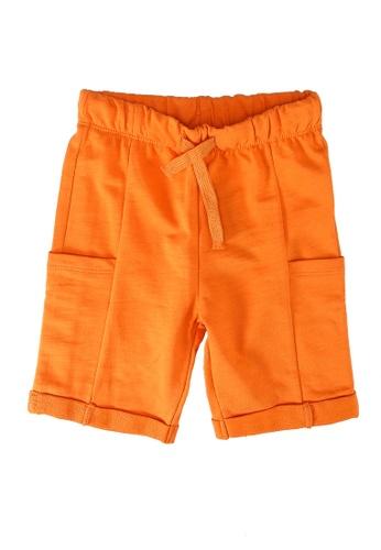 LC Waikiki orange Baby Boyâ??s Shorts FD46FKAC163A8DGS_1