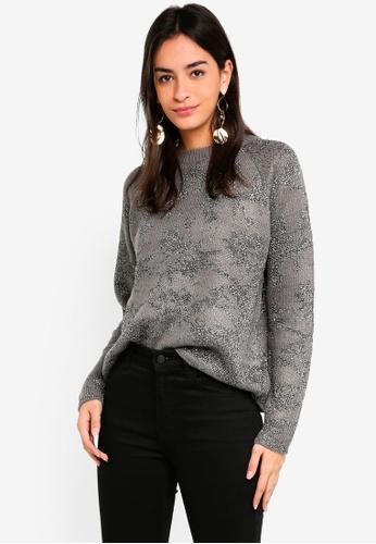 Vero Moda grey Nito Long Sleeve Pullover 4B496AA850CB85GS_1