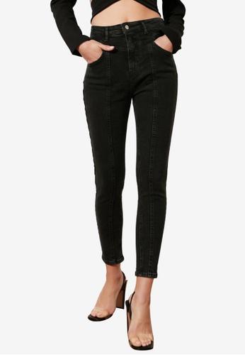 Trendyol black High Waist Skinny Jeans 3E5C0AA1B2A170GS_1