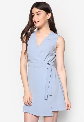 裹式無袖連身裙, 服zalora鞋子評價飾, 正式洋裝