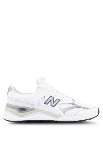 New Balance white X90 Heritage Reconstructed Shoes 3C6D1SH42B40F4GS_1