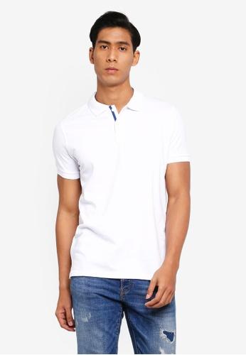 OVS 白色 Basic POLO衫 4E721AAEBBF38CGS_1