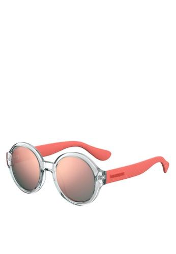 Havaianas pink FLORIPA/M Sunglasses 00C41GLCE2A572GS_1