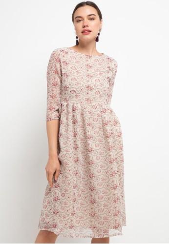 Wishful beige Laila Dress 25A6FAA6C81EAEGS_1