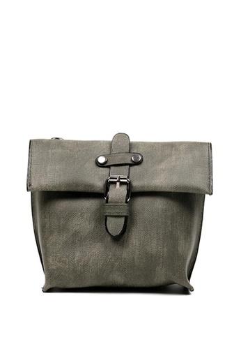 Vintage Paris grey Sansa Cross Body Sling Bag VI567AC0IVZ1PH_1