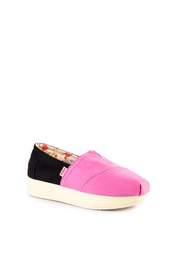 Arsip Sepatu Wedges Wakai Jakarta Timur Fashion Wanita Source · Kombinasi warna pink dan hitam Cordura upper