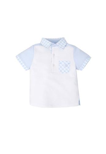 Tutto Piccolo blue Sky Blue Polo Shirt 19B6AKA4941B75GS_1