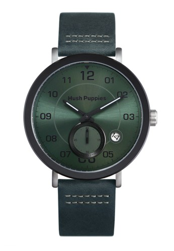 Hush Puppies Watches green Casual Men's Watches 61CEFAC1B00955GS_1