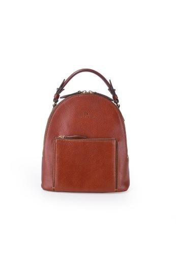 Charles Berkeley brown Charles Berkeley Italian Craftsmanship Sienna Vintage Style Backpack-07268 33B10AC664A8C5GS_1