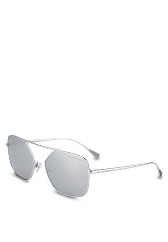 Emporio Armani silver Emporio Armani EA2053 Sunglasses EM212GL0S9PEMY_1