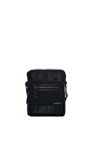 Renoma black Dennis Postman Bag AABC6ACA71B598GS_1