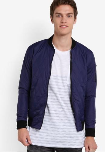 基本款時尚轟炸機外套,esprit 品牌 服飾, 服飾