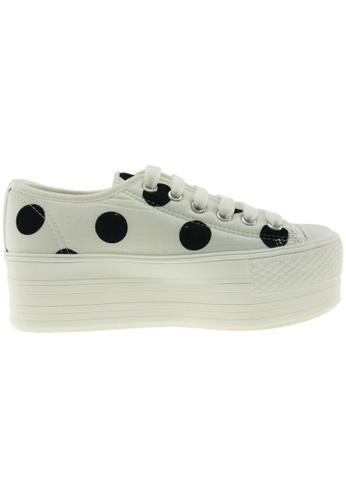 Maxstar white Maxstar Women's C50 6 Holes Platform Canvas Low Top  Sneakers US Women Size MA164SH46PSNSG_1