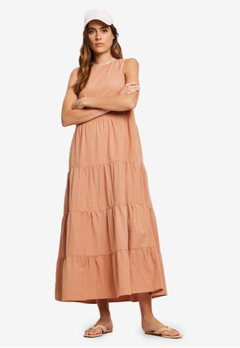 St MRLO orange Byron Dress 00112AAC33CCF9GS_1