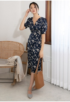 4676ac403f5 60% OFF NAIN Puff Sleeve Floral Dress RM 269.00 NOW RM 107.90 Sizes One Size
